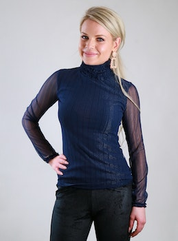 Roula Top Navy