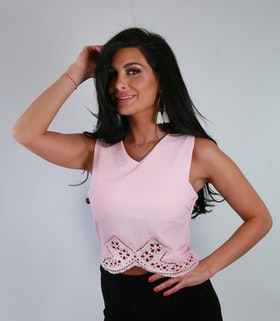 Caroline Top Pink