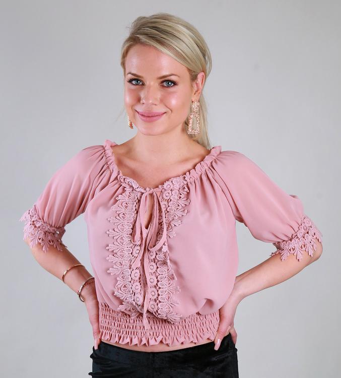 Sussie Top Pink