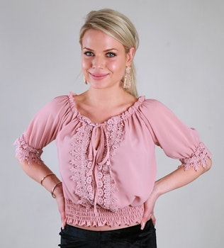 Sussie Top Pink