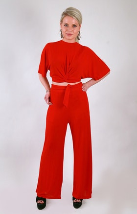Irina Two Set Tracksuit Red