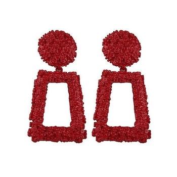 Hanady Röd Örhängen