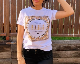 Paris T-Shirt White