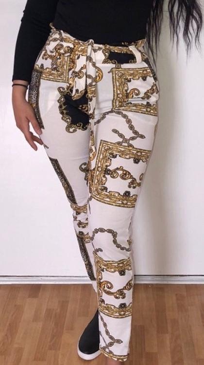 Saranda Pants White