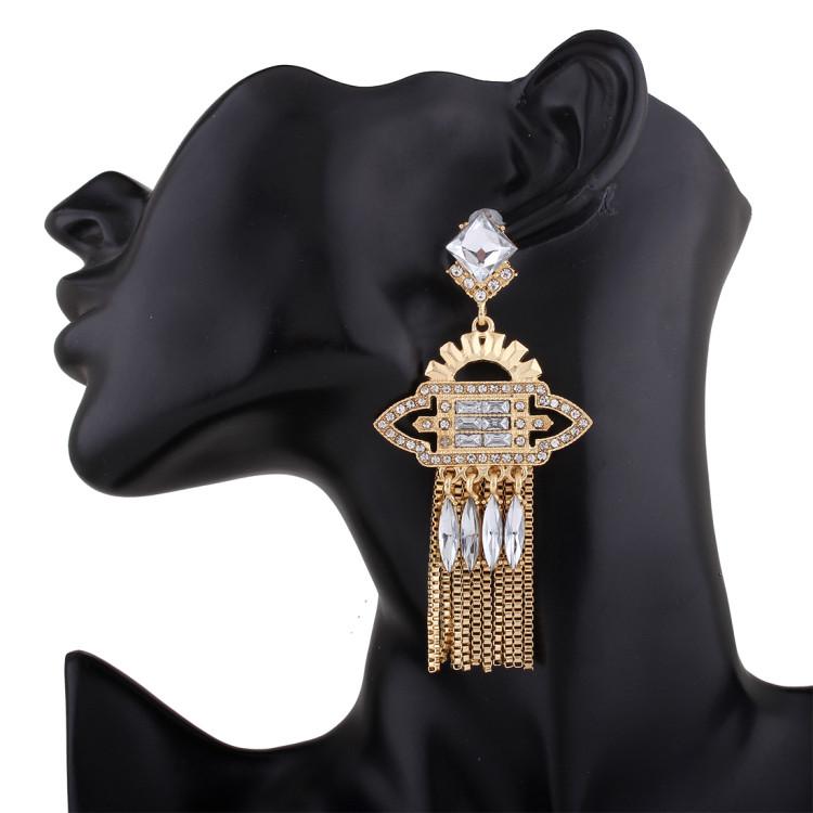 Beatrisse Gold Earrings