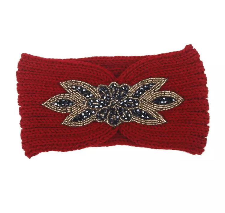 Melina Headband Red