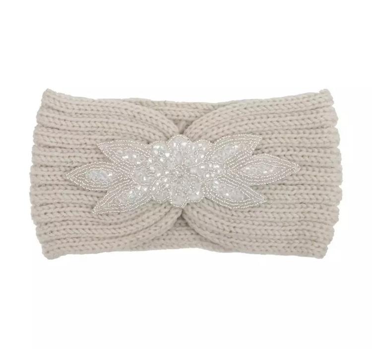 Melina Headband Offwhite
