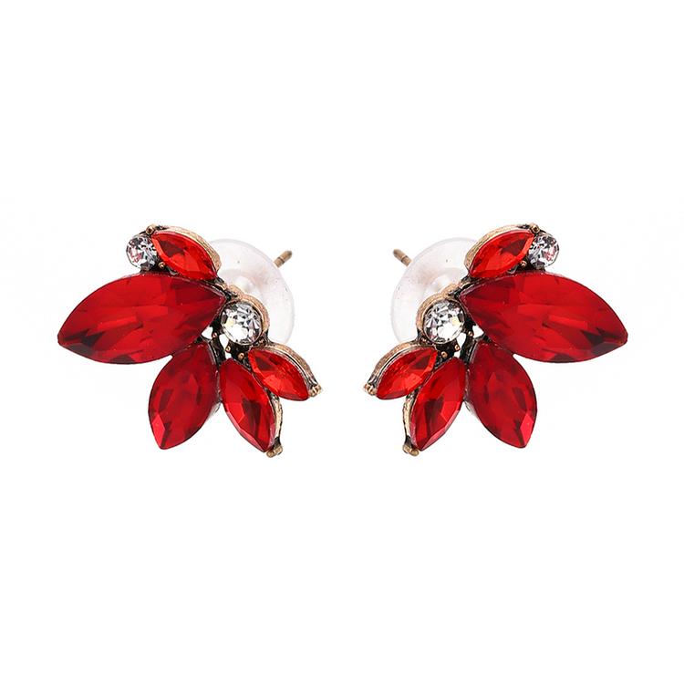 Sonja Earrings Red