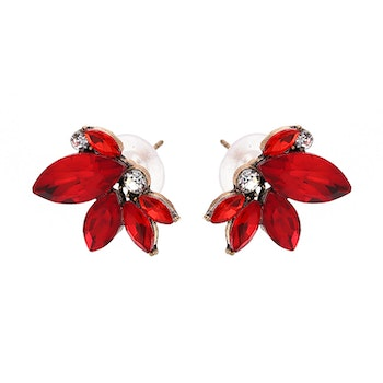 Sonja Earrings Red