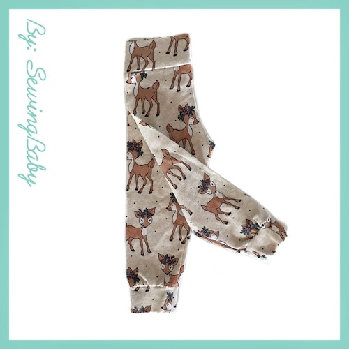 SewingBaby - Leggins - Sweet Deer
