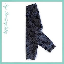 SewingBaby - Leggins - Stars Grey