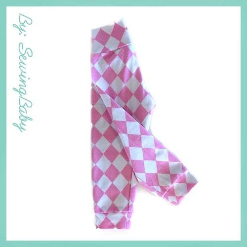 SewingBaby - Leggins - Harley quinn pink