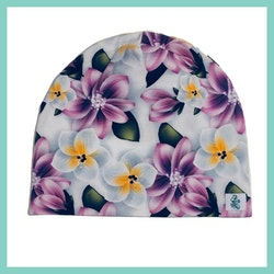 Mössa - Flower Lila