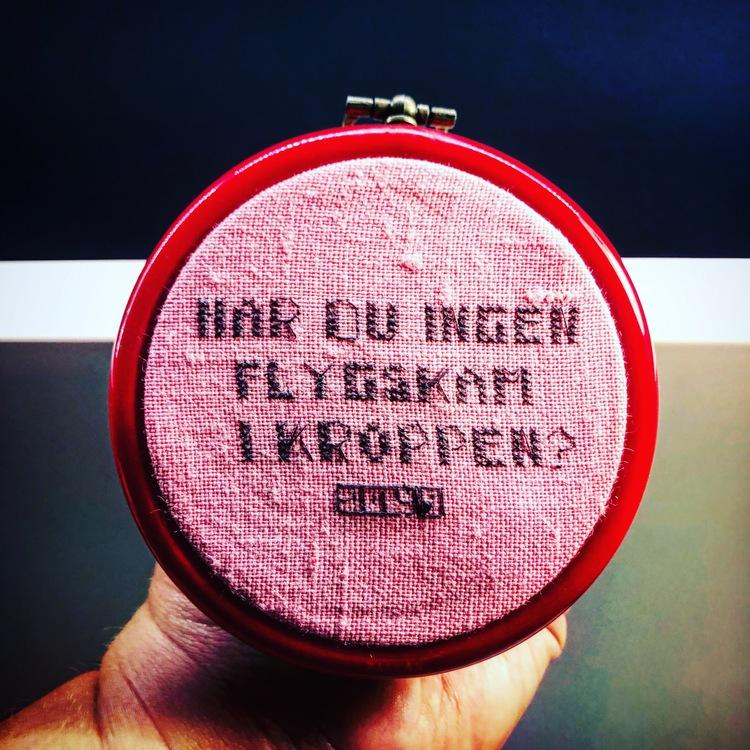 Flygskam (pink)