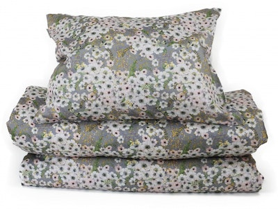 Anémone Dove Grey - Duvet cover / Single