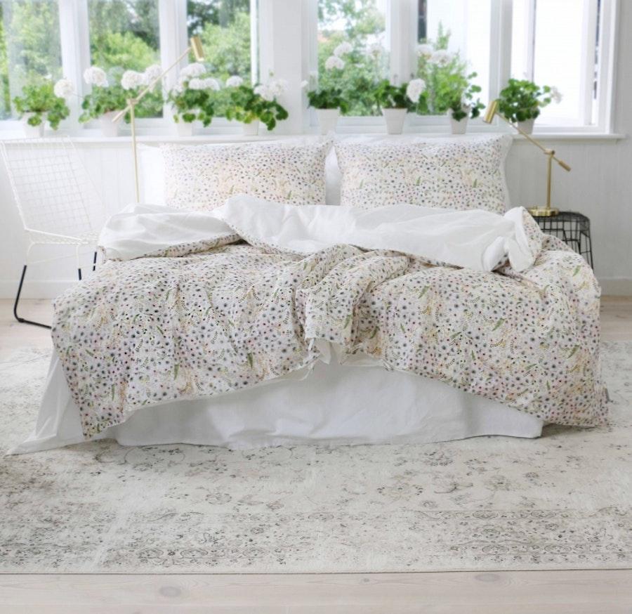 Anémone Eggshell White - Duvet cover / King size