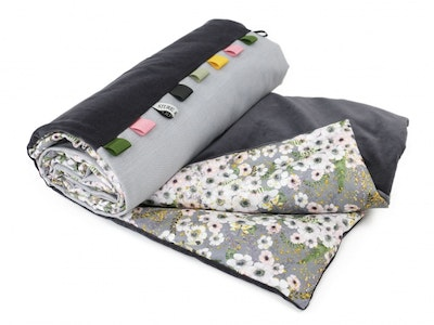 Anemone Dove Grey / Kids Blanket