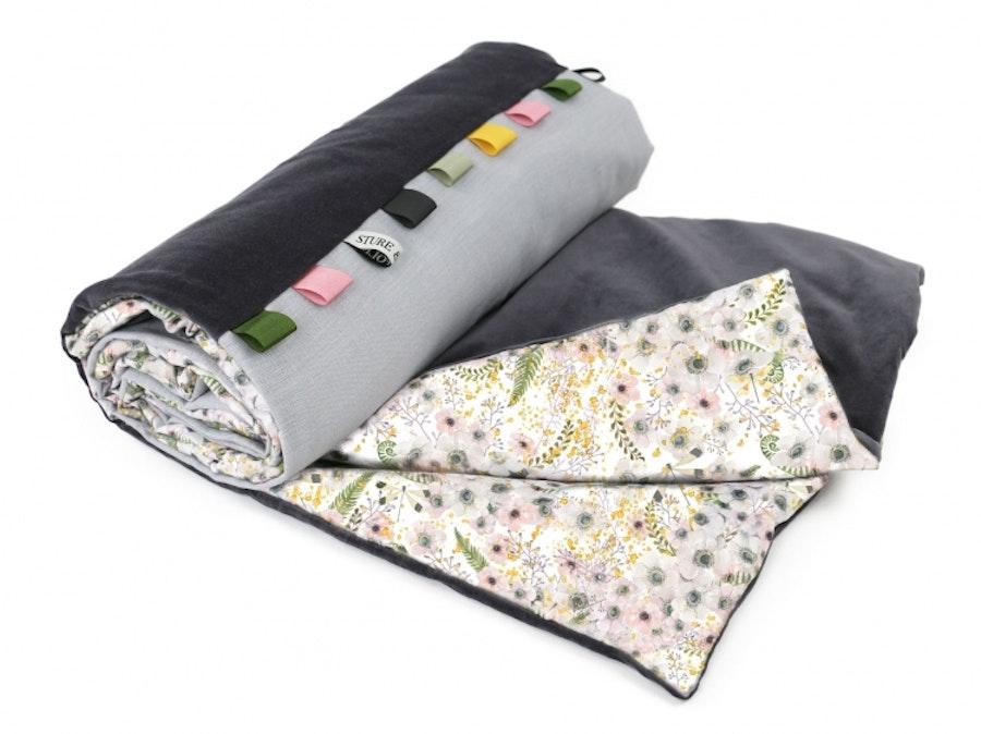 Anemone Eggshell / Kids Blanket
