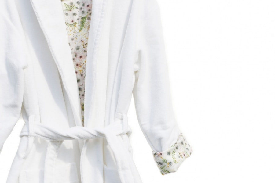 Anémone Eggshell White / Bathrobe
