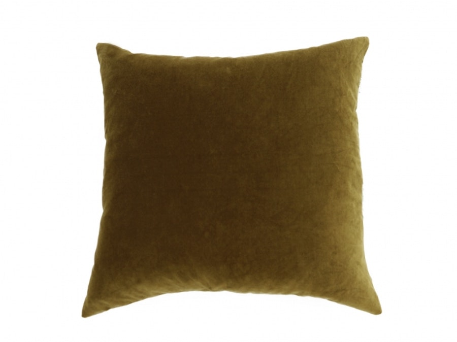 Anémone Dove Grey & Olive / Cushion Case