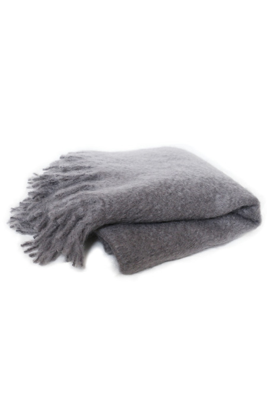 Mohair Throw Dove