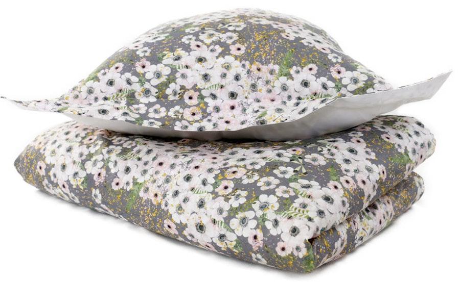 Anemone Dove Grey / Kids Bedset