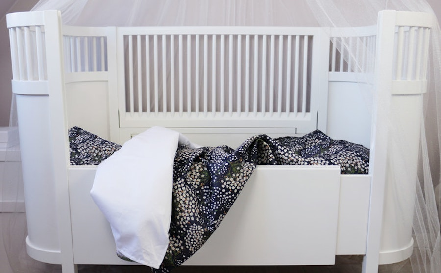 Elderflower Taupe (Black) - Bedset / Children