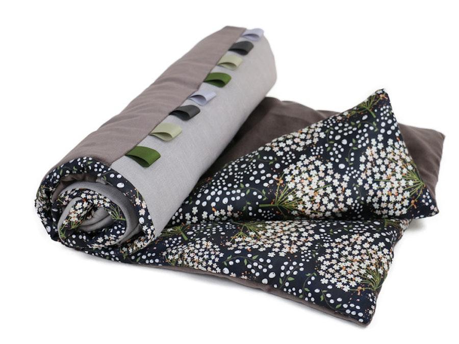 Elderflower Taupe / Blanket