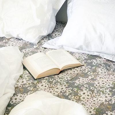 Anemone Dove Grey / Flat Sheet Double