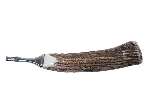 Loopkniv Frank Ringel Dubbeleggad Horn