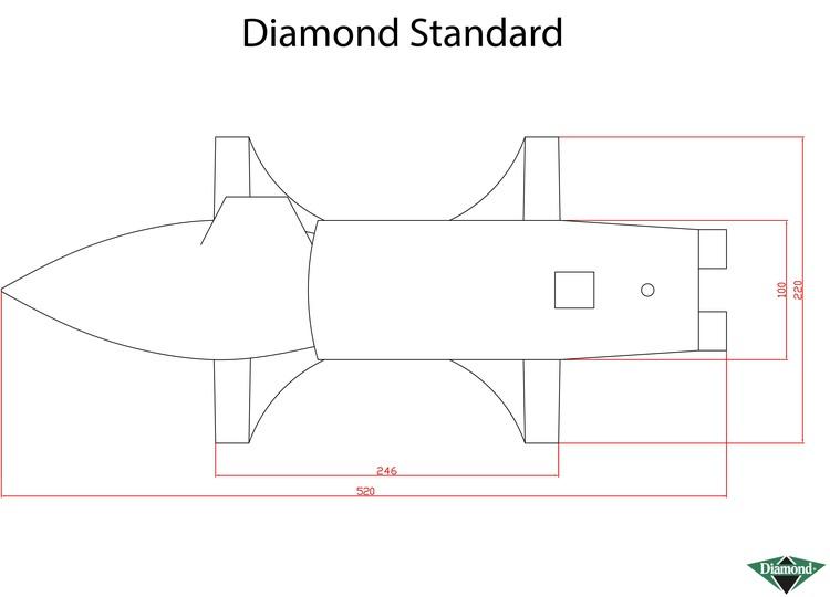 Städ Diamond 35 kg