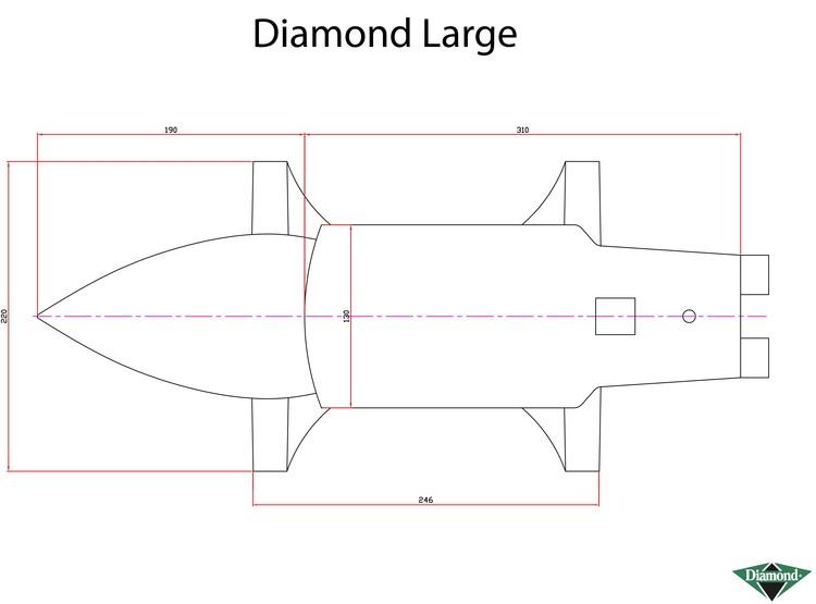 Städ Diamond 38 kg