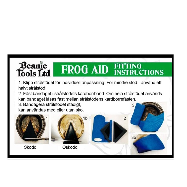 Strålstödsats Beanie Frog Aid Kit