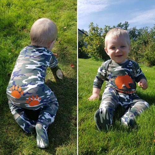 Pyjamas Kamouflage