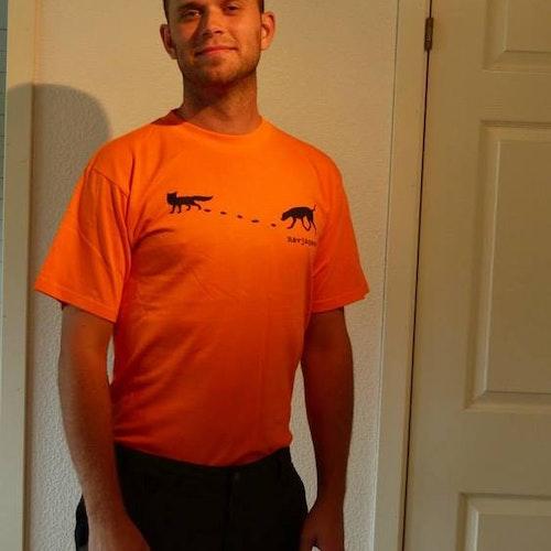 Rävjägare Orange T-shirt
