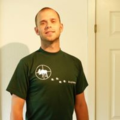 Älgjägare Grön T-shirt