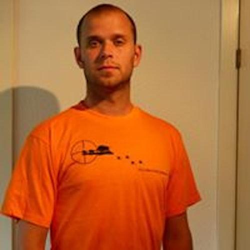 Vildsvinsjägare Orange T-shirt