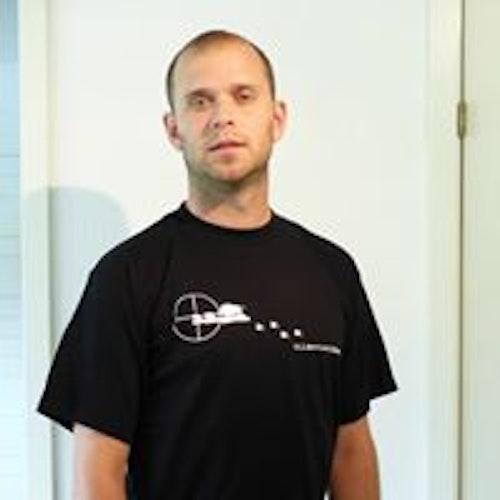Vildsvinsjägare Svart T-shirt