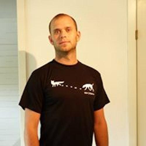 Rävjägare Svart T-shirt