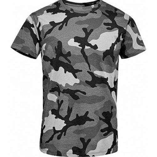 Designa din egen Kamouflage T-shirt GRÅ