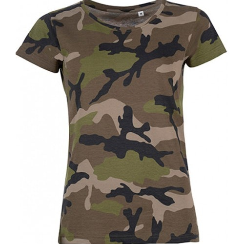 Designa din egen Kamouflage T-shirt GRÖN
