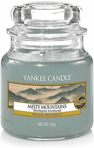 Yankee Candle - Misty Mountains - Mellan doftljus