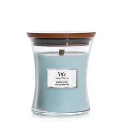WoodWick Lavender & Cederträ Medium Doftljus