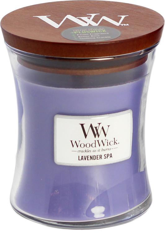 WoodWick Lavender Spa Medium Doftljus