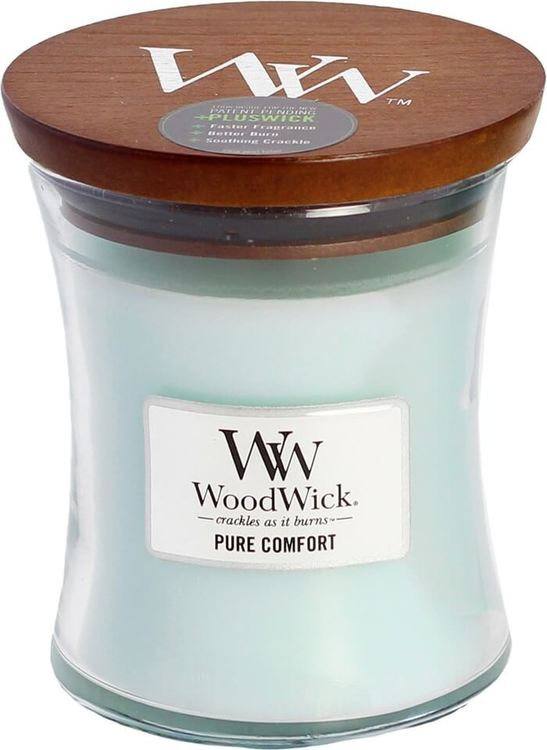 WoodWick Pure Comfort Medium Doftljus