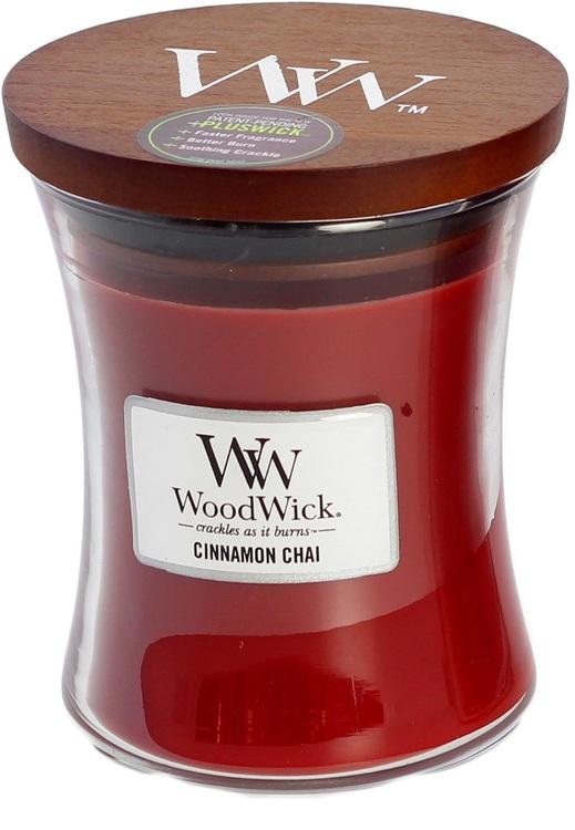 WoodWick - Cinnamon Chai - Medium Doftljus