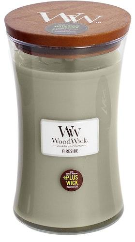 WOODWICK - FIRESIDE- STORT DOFTLJUS
