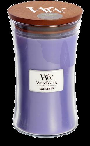 WoodWick Lavender Spa Stort Doftljus