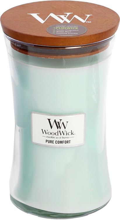 WoodWick Pure Comfort Stort Doftljus