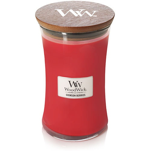 WoodWick - Crimson Berries - Stort Doftljus